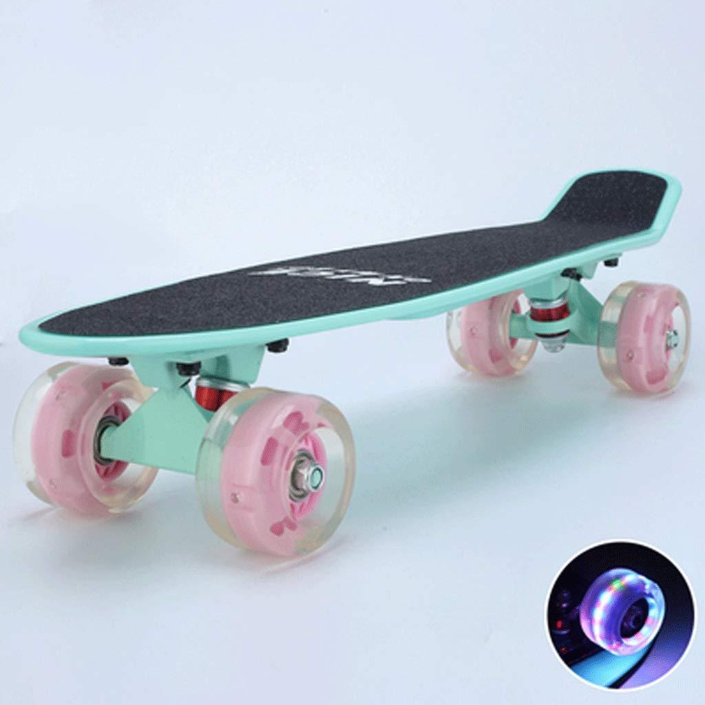 全国総量無料で 大人の子供とティーンエイジャースケートボード魚のプレート4ラウンド初心者のスケートボード (色 : love Blue Purple) B07KWXB4YK First (色 love love First love, 衣料と繊維通販 北のかがやき:c778ec80 --- a0267596.xsph.ru