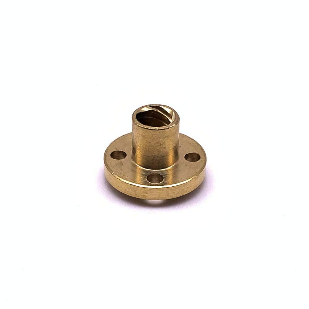 Pillow Bearing Block for 3D Printer by LINGLONG Coupler Copper Nut 300mm 8mm T8 Lead Screw Set Lead Screw