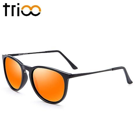 Yangjing-hl Gafas de Sol Espejo polarizado Diseñador de la ...