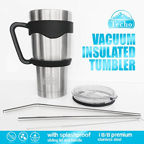 Stainless Insulated Tumblers Straws Double product image