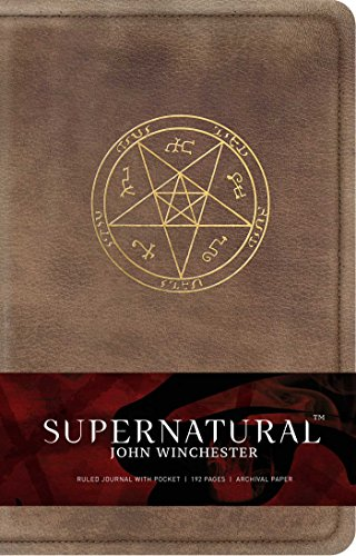 Supernatural: John Winchester Hardcover Ruled Journal (Insights Journals) (Science Fiction Fantasy) Hardcover – 12 Sept. 2017