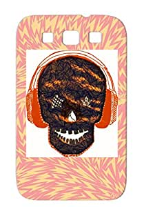BIG BANG Black Love Pop Kpop Skull Music Headphones Music For Sumsang Galaxy S3 Case