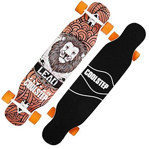 BeTyd Cool Skateboard Durable 1pc 2019 New 107 23cm Long Board 70 51mm 78A Wheel Dancing Board-K