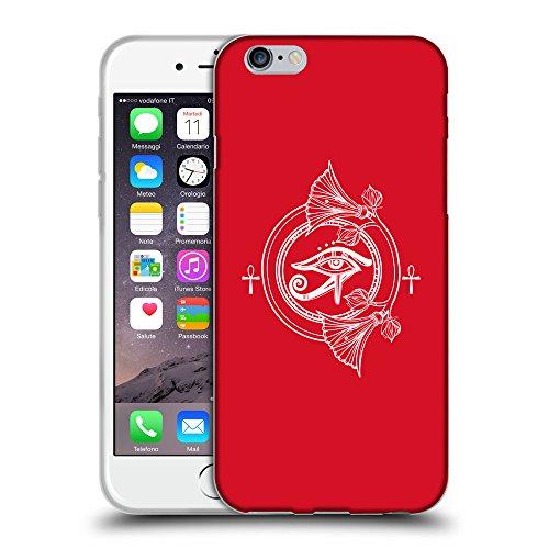"""GoGoMobile Coque de Protection TPU Silicone Case pour // Q09930624 Religion 33 Cadmium Rouge // Apple iPhone 6 PLUS 5.5"""""""