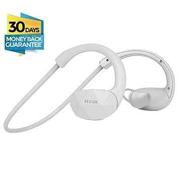 Besign SH01 Auriculares estéreo Bluetooth 4.1 para correr cascos deportivos y resistente al agua y sudor