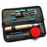 Piano Tuning Kit Piano Tuning Maintenance Tool with Case,Set of 13PCS