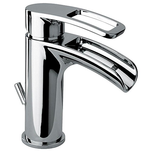 Glacier Bay Kiso Single Hole 1-Handle Low-Arc Bathroom Faucet in -