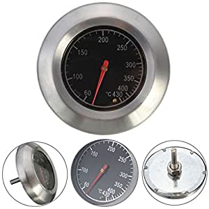 Cooking Thermometers Barbecue BBQ Smoker Grill Stainless Steel Thermometer Temperature Gauge 60-430℃
