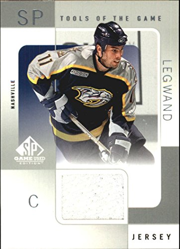 - 2000-01 SP Game Used Tools of the Game #DL David Legwand Jersey