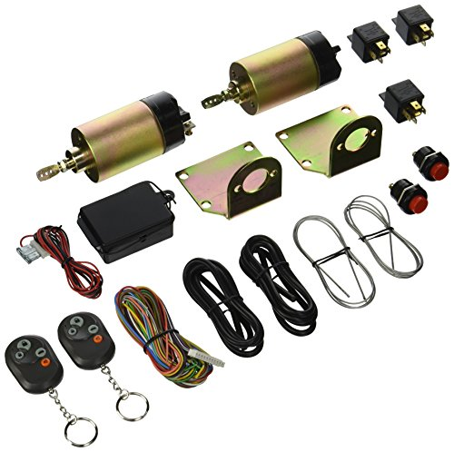AutoLoc Power Accessories 129184 4 Function Remote Shaved Door Popper Kit, (50 lbs)