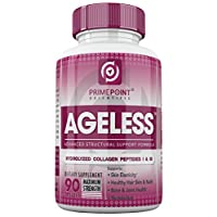 Ageless Hydrolyzed Collagen Peptides Capsules: Best Powdered Protein Formula Type...