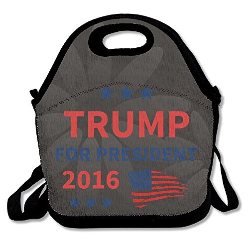 Matt Martin Halloween Costume (COREI779 Trump President 2016 Vote Lunch Tote Bag Lunch Box For Travel School Picnic Grocery Bags For Women Adults Kids Girls)