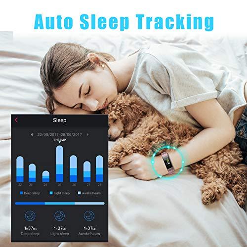 LETSCOM HR Color Heart Monitor, Waterproof Sleep Monitor, Watch for Men Kids