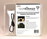 Tee Repair Tool, Golfing Accessory Gadget Sharpens Broken Wood & Plastic Tees; Attaches to Golf Bag – Great Gift & Christmas Stocking Stuffer