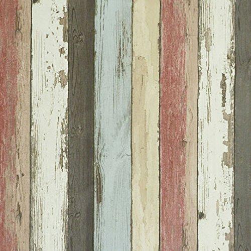 のりなし国産壁紙 ランダムウッド柄セレクション/シンコール BIGACEビッグエース(販売単位1m)BA6054() B01N75MS74 のりなし壁紙