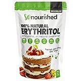 Erythritol Sweetener Granular (454 Grams / 16 OZ) - No Calorie Sweetener, Non-GMO, Natural Sugar Substitute (1 Pound)