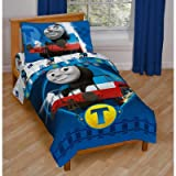 Thomas & Friends 4-Piece Toddler Bed Set, Thomas the Train, Thomas the Tank Engine