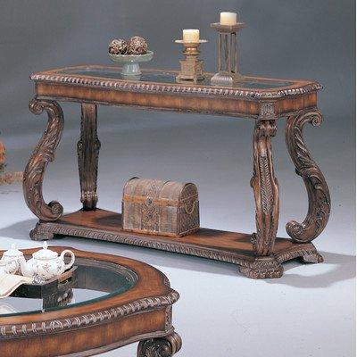coaster-home-furnishings-3893-traditional-sofa-table-brown