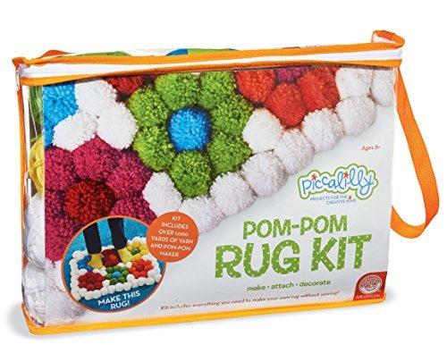 Pom-Pom Rug Kit by MindWare