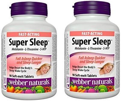 Amazon.com: Webber Naturals Super Dormir Fórmula Natural ...