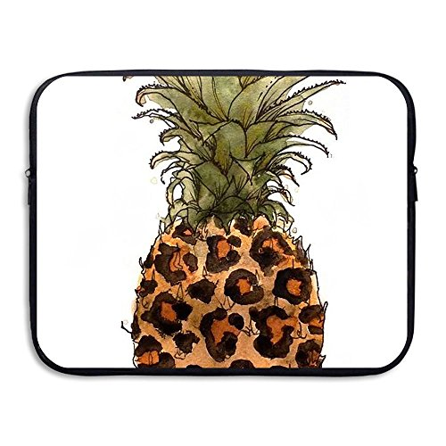 Business Briefcase Sleeve Leopard Pineapple Pattern Laptop S
