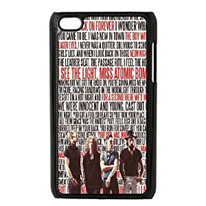 LSQDIY(R) The Killers iPod Touch 4 Personalized Case, Customised iPod Touch 4 Case The Killers