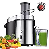 Homeleader Juicer Juice Extractor Wide Mouth Centrifugal Juicer,2 Speed...