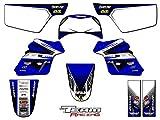 Team Racing Graphics kit for All Years Yamaha PW 50, ANALOG Complete Kit