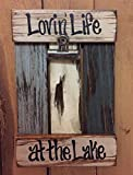 quilt coffee table book - LAKE PHOTO HOLDER Shutter / Pallet Wall Wood Picture Frame Reclaimed - LOVIN' LIFE AT THE LAKE