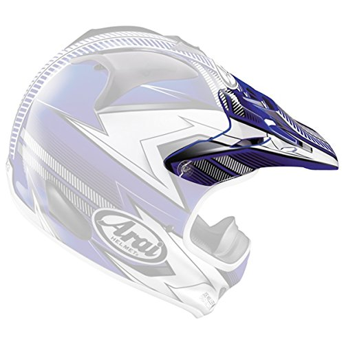 Arai VX-Pro3 Nitrous Helmet Visor Red by Arai (Image #1)