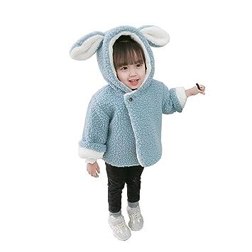 33fd0749dd6f9 キッズ アウター コート ジャケット もこもこ 兔耳付き 子供服 女の子 男の子 冬服 裏起毛