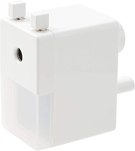 MUJI Compact Portable Manual Pencil Sharpener f//s made in japan White simple