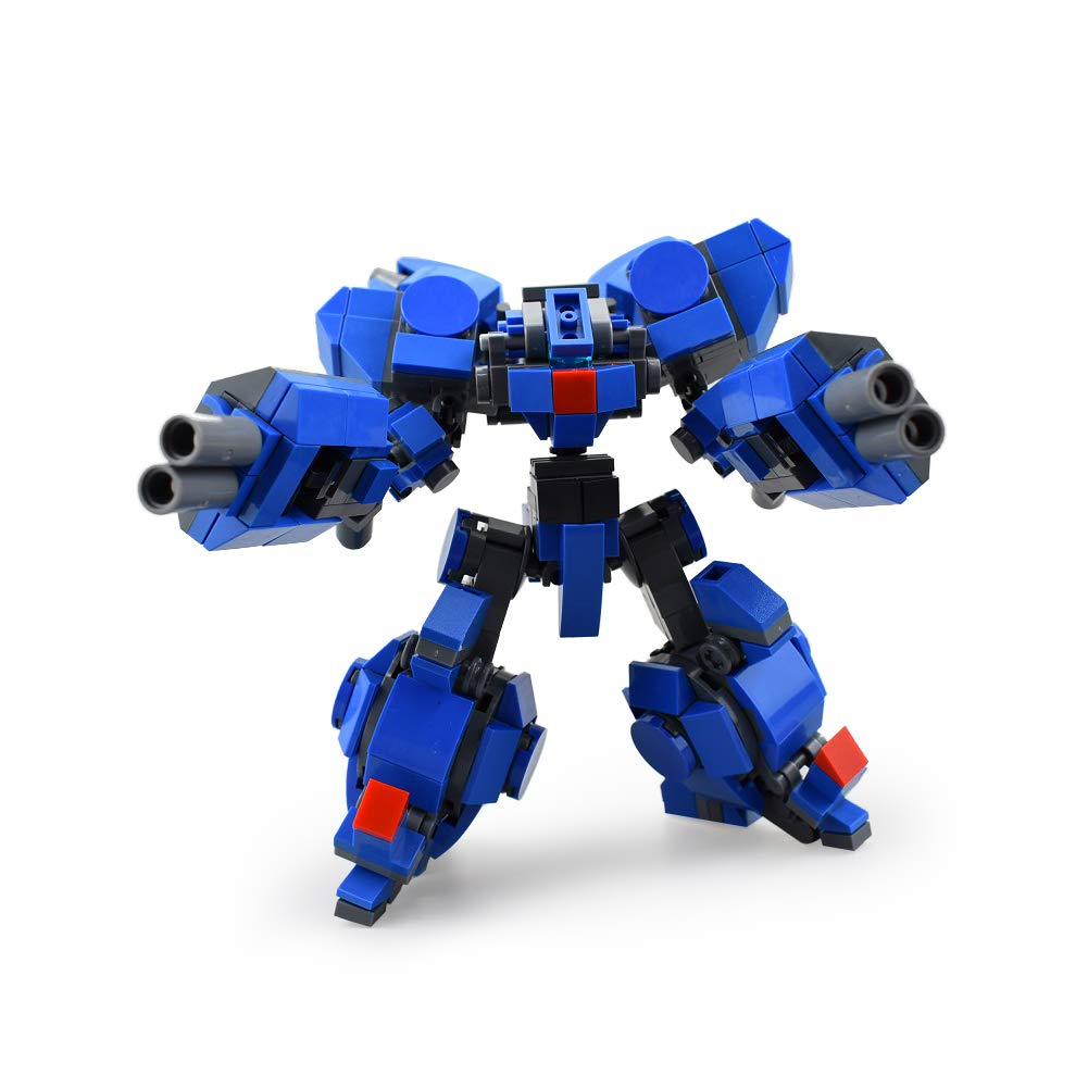 LetMay MOC Building Blocks Cosmos Wars Series of Armed Team ,Purple Electric 360 Piece Compatible with Lego Set