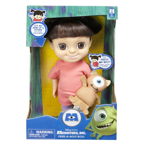 Monsters U Peek-a-Boo Feature Boo Doll (Monsters Inc Boo Doll)