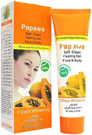 Hanyia Exfoliating Cream Exfoliating Gel Skin Care Moisturizing and Whitening Face Hand Body Exfoliating Gel - Papaya