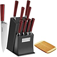 Cuisinart 11 Pc Cutlery Set w/Block & Bamboo Cutting Board