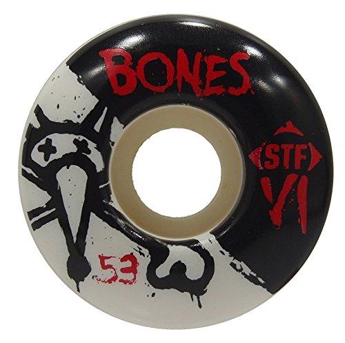 受取人ジョブチップボーンズ ウィール (BONES) STF V1 SKINNY 53mm 103a スケートボード ウィール スケボー