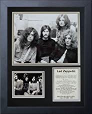 Legends Never Die Led Zeppelin Early Years Framed Photo Collage, 11 x 14-Inch