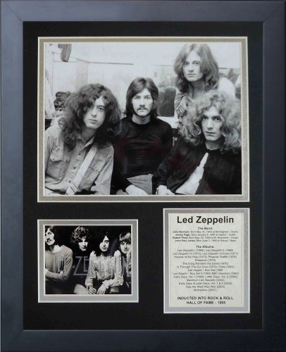 """Legends Never Die """"Led Zeppelin Early Years Framed Photo Collage, 11 x 14-Inch"""