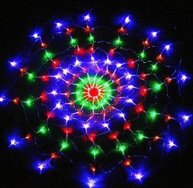 Led Web Christmas Lights - 5