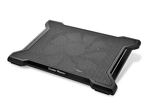 Cooler Master NOTEPAL X-SLIM II 900RPM Negro almohadilla fría - Base de refrigeración (20 cm, 900 RPM, Negro, De plástico, Caucho, 350 mm, 249 mm) Coolermaster