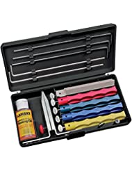 Lansky Professional Sharpening System with Coarse, Medium, Ul...