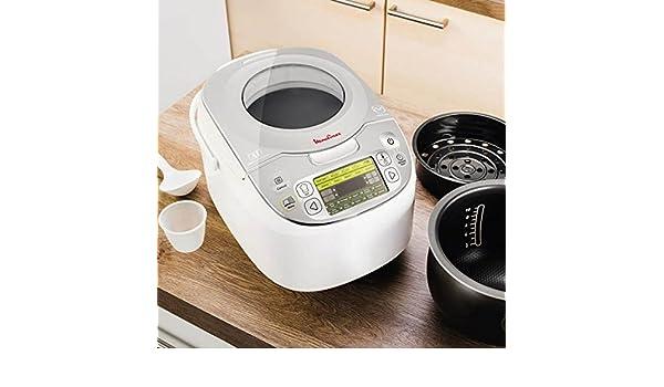 qtimber Robot de Cocina Moulinex MK8121 Maxichef Advanced 5 L 750W 27.99 x 45.01 x 32.99 cm frullatore: Amazon.es: Hogar