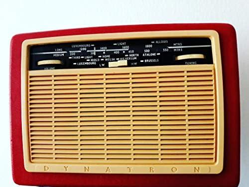 1960 VINTAGE DYNATRON RADIO.