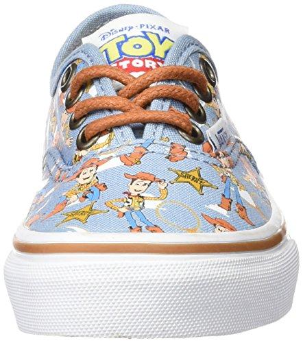 Vans Authentic, Zapatillas Unisex Niños Multicolor (Toy Story Woody/True White)