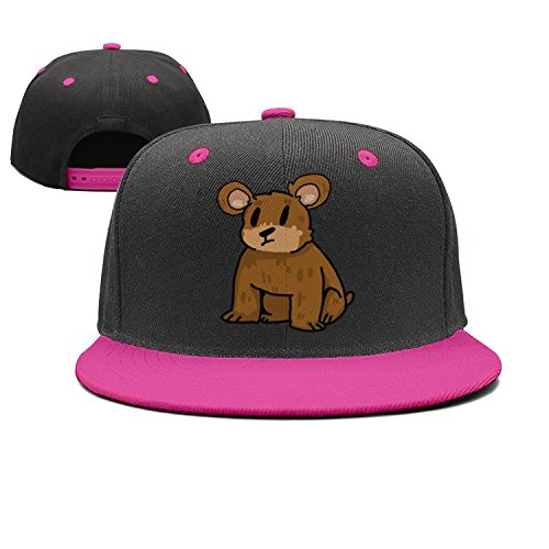 Coolhat Womens Mens Funny Clipart Brown Bear Graphic Adjustable Baseball Hat