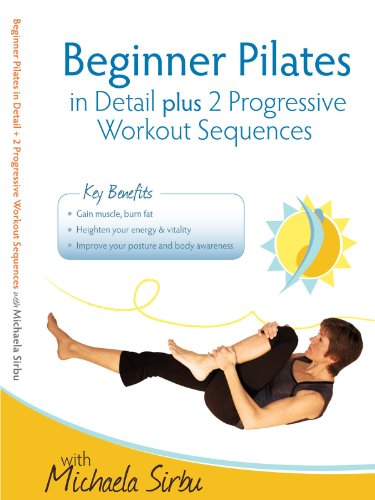 Beginner Pilates In Detail Plus 2 Progressive Workout Sequences  2 Dvds