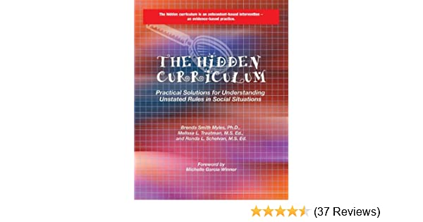 Amazon The Hidden Curriculum Practical Solutions For