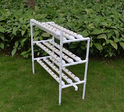 Hydroponic Site Grow Kit 90 Holes Water Culture Garden Plant System by Tool
