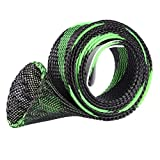 Panatee Braided Fishing Rod Covers, Casting Rod Cover Gloves Protector Tools